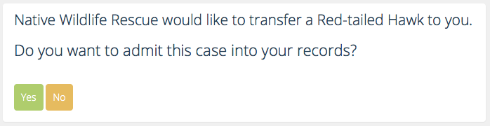 Transfer request Message