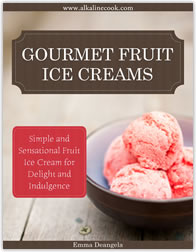 lactose-free alkaline foods fruit ice creams