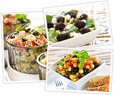 Salads with Alkaline Veggies