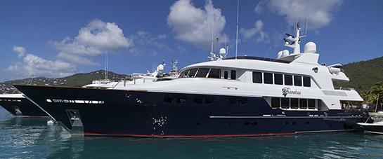 Bacchus mega yacht for charter