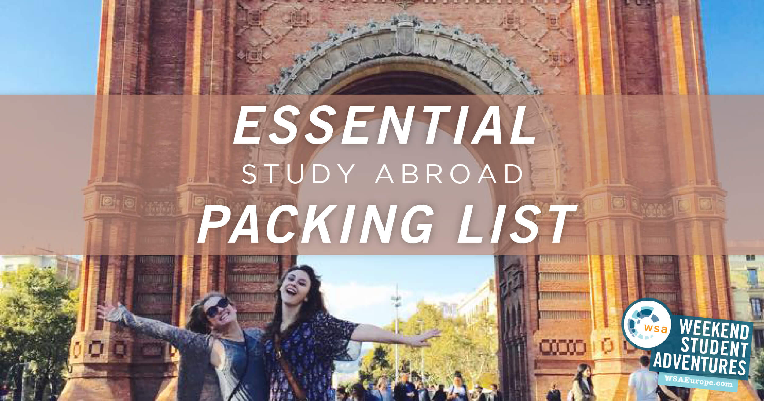 What To Pack For Study Abroad Weekend Student Adventures