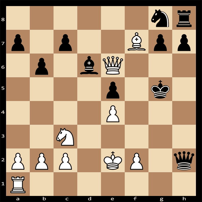 Mate in three moves, White to play