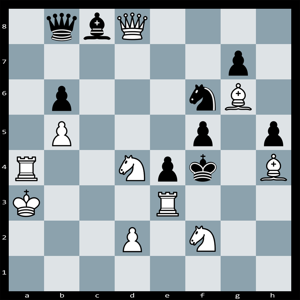 Mate in Two Moves, White to Play