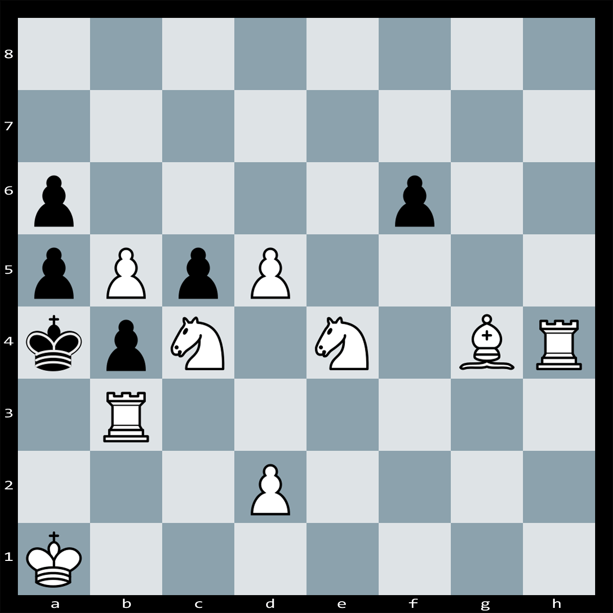 Mate in two moves, White to Play | Puzzle #109