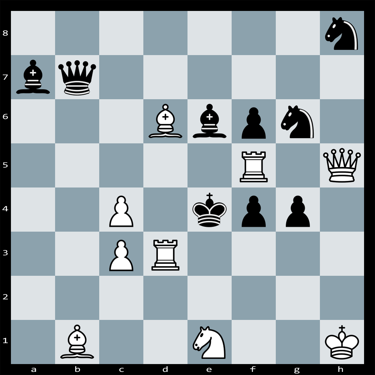 Mate in Two moves, White to play | Puzzle #110