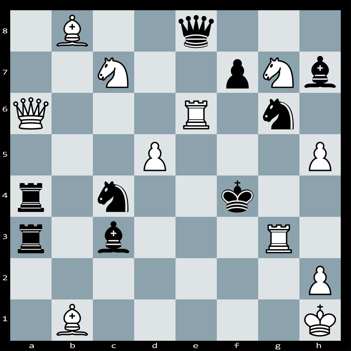 Find checkmate in two moves, White to Play | Puzzle #114