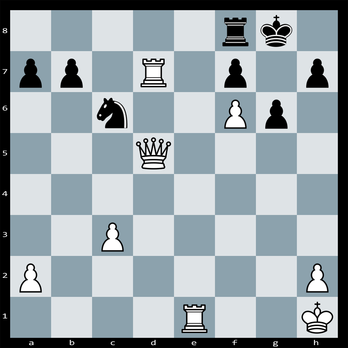 Mate in Three moves, White to Play | Chess Puzzle #120