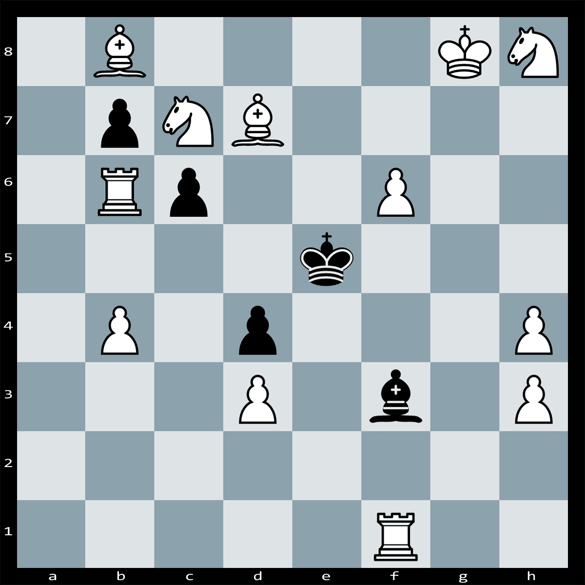 Puzzle #122 | Find checkmate in two moves, White to Play.