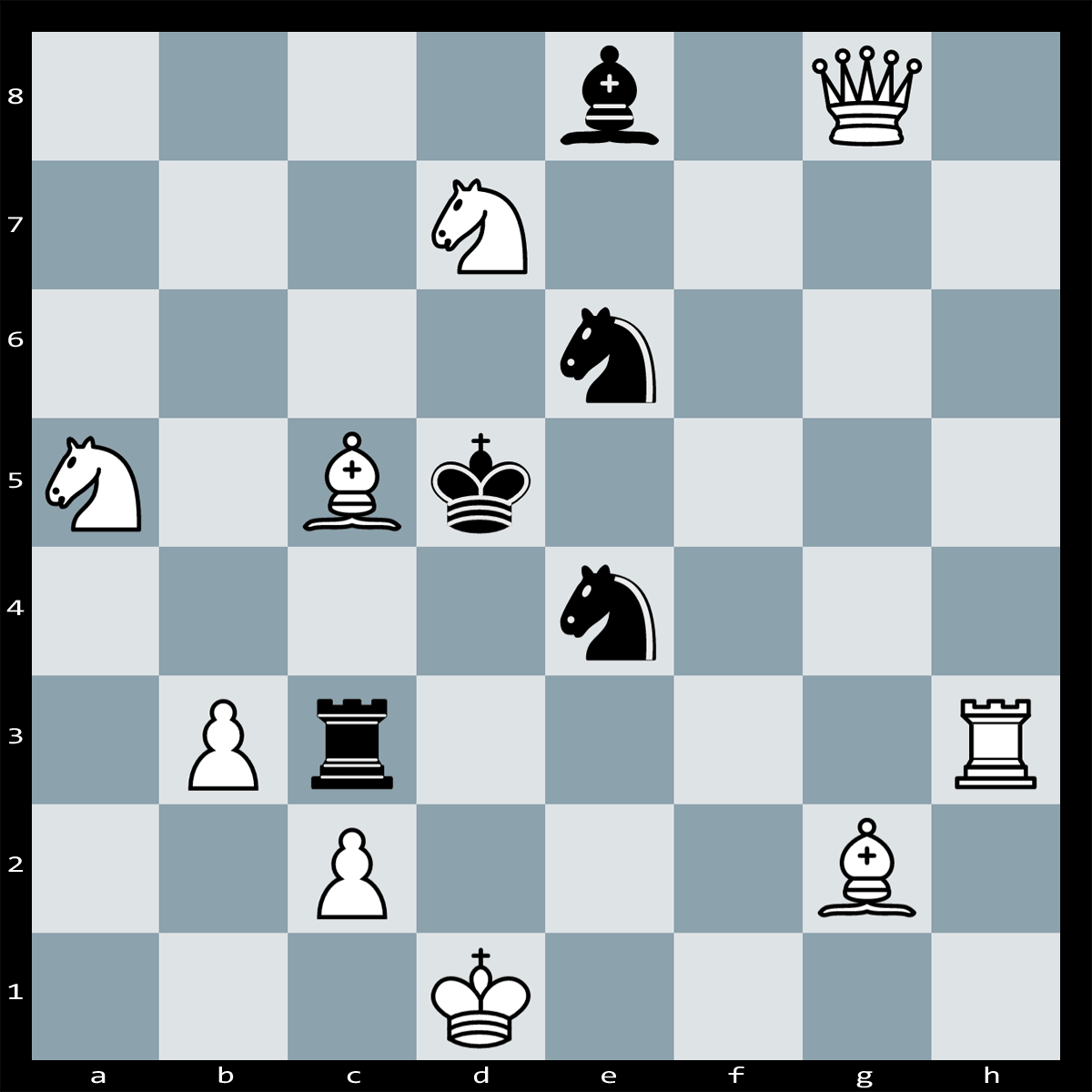 Puzzle #125 | Find checkmate in two moves, white to Play.