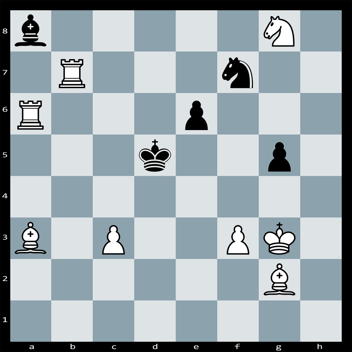 Chess Puzzle #126 - Find checkmate in two moves, White to Play.