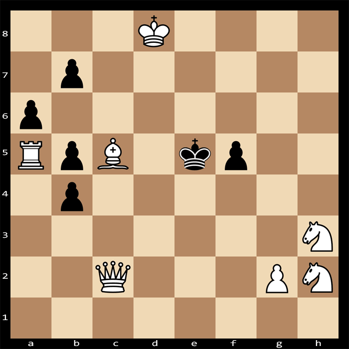Mate in Three Moves, White to Play - Chess Puzzle #86