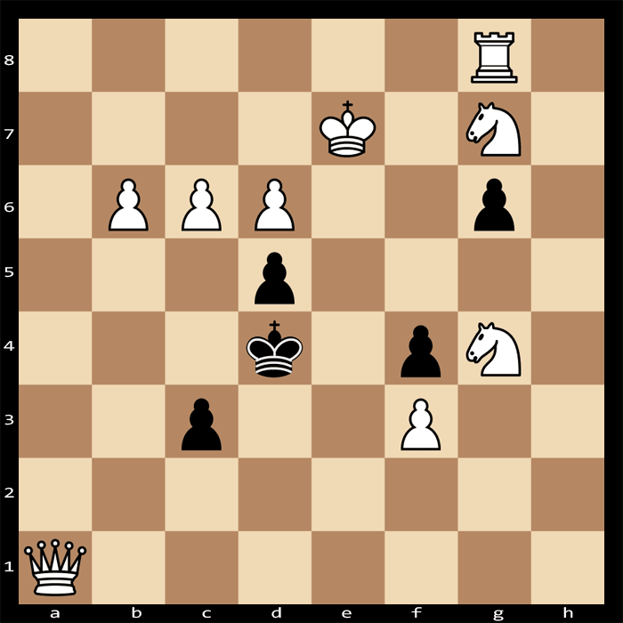 Mate in 3 moves, White to Play