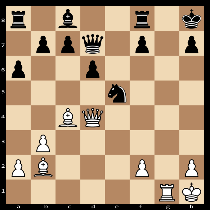 Mate in Four Moves, White to Play