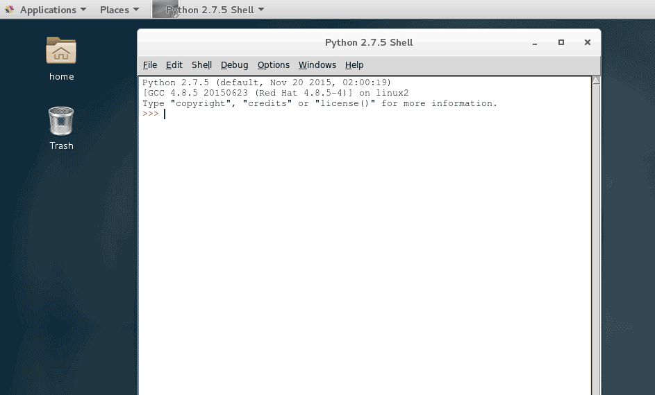 How to Install Python IDLE Editor on CentOS 7 Linux