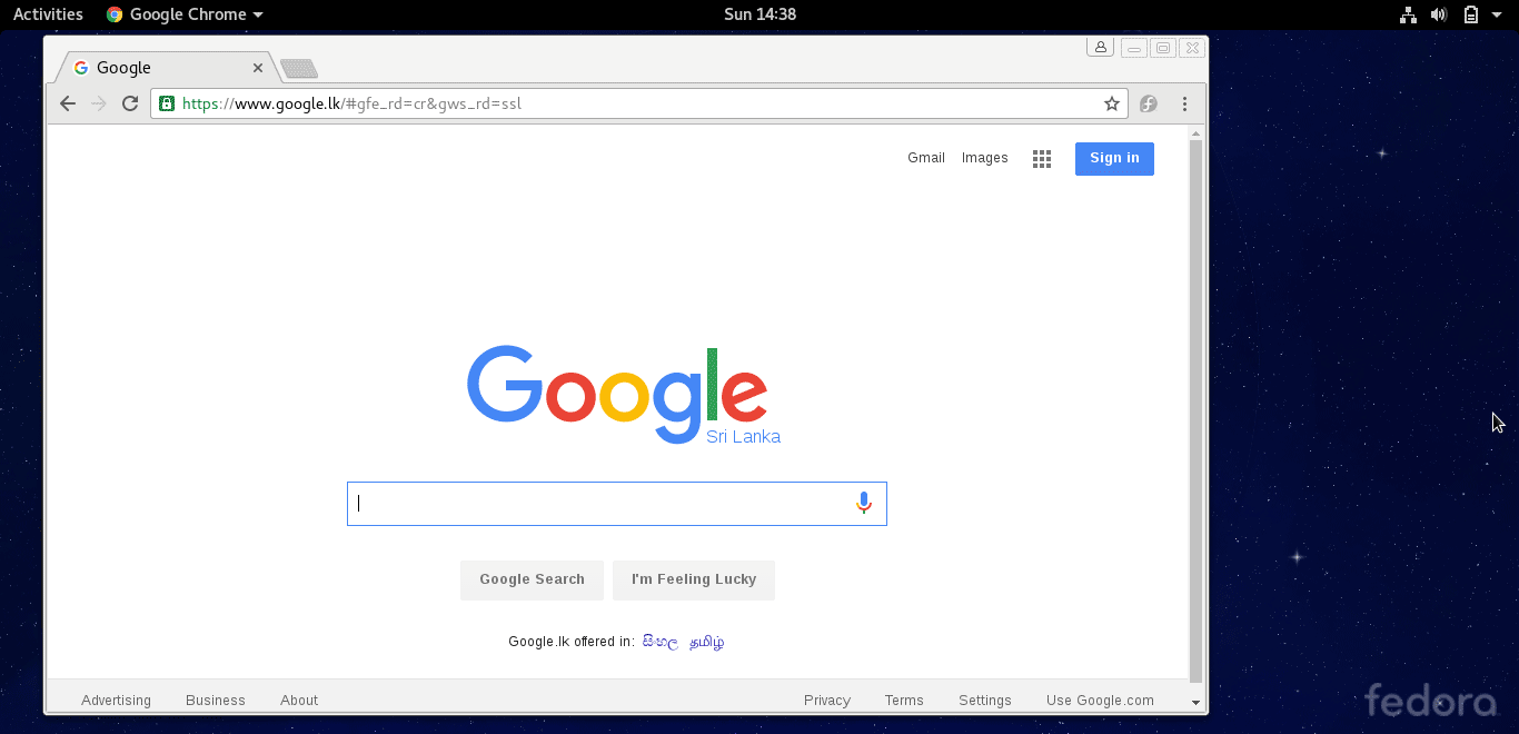 how to set google chrome as efault