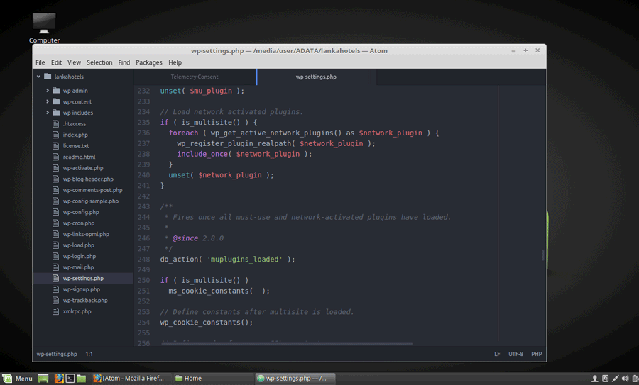 How to Install Atom Text Editor on Linux Mint