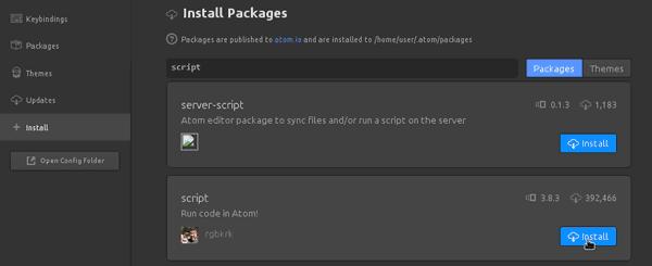 Run Python Scripts Atom Text Editor