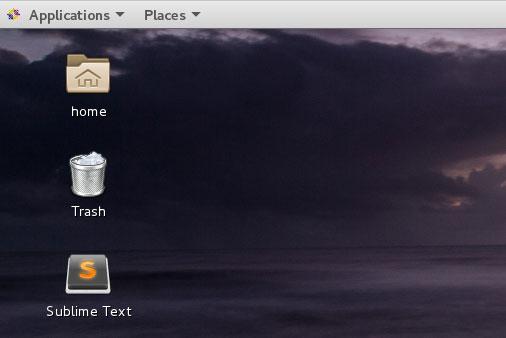 Sublime 3 Desktop Shortcut CentOS 7