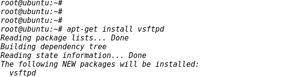 Install FTP Server vsftpd on Ubuntu Linux