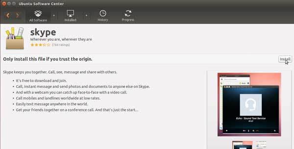 How to Install Skype on Ubuntu 14.04