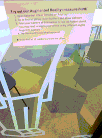 Building an Augmented Reality Treasure Hunt with A-Frame and