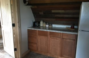 7 Springs Farm accommodations - part of the kitchen