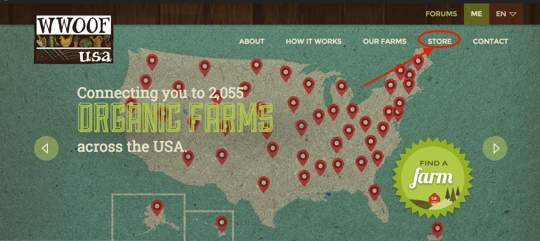 WWOOF-USA Store Now Open! « WWOOF-USA