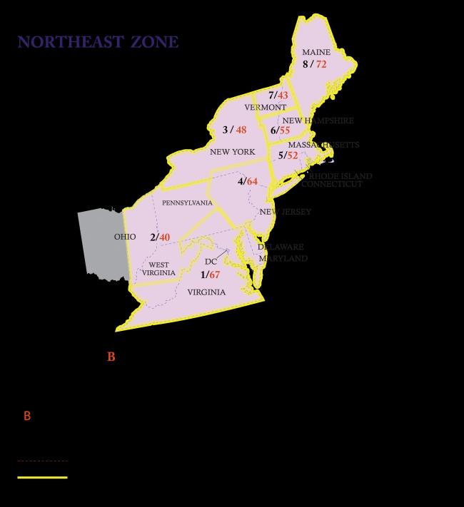 Northeast Zone