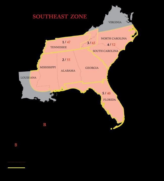 Southeast Zone