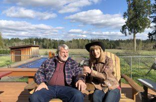 Diane & David, Paradise farm owners