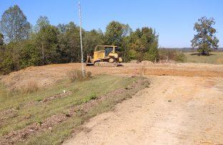building site for new wwoofer quarters