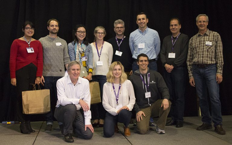 Madrona Prize winners and runners up with the Madrona Venture Group team