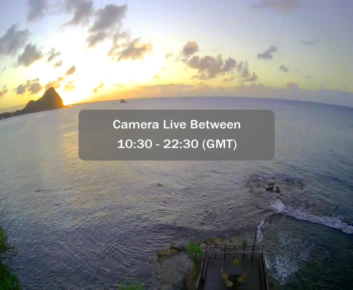 Live webcam saint lucia cap maison sun cam live for Live camera website