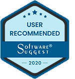 Software Suggest User Recommended award logo