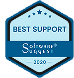 Software Suggest Best Support award logo