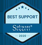 Software Suggest Best Support award logo