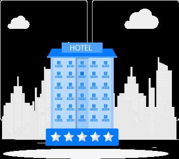 Centralizes hotel management
