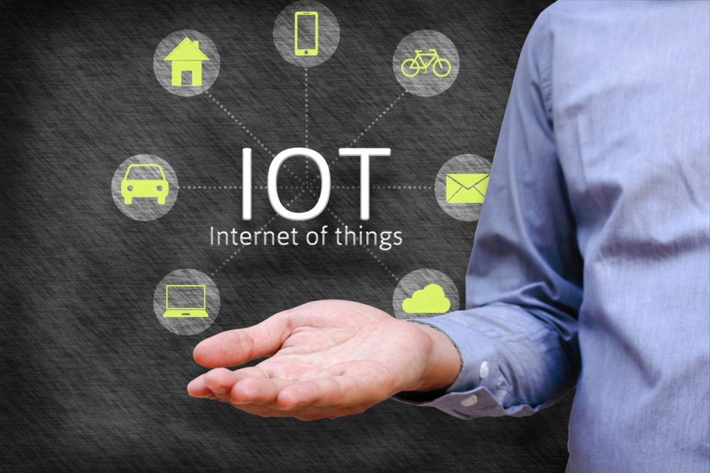 A photo representing the multiple aspects of IoT