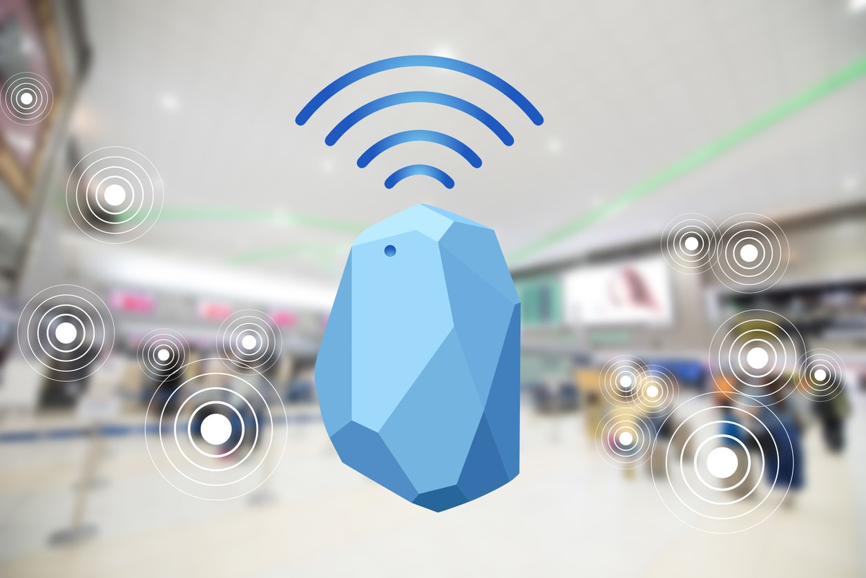 Bluetooth Low Energy Beacon.