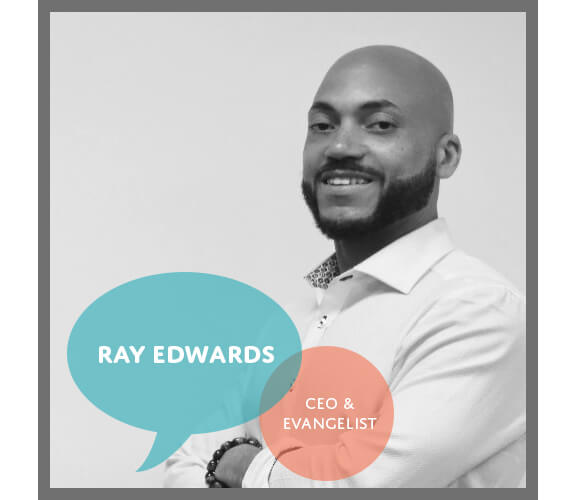 a portrait of the founder of PaqTech, Ray Edwards