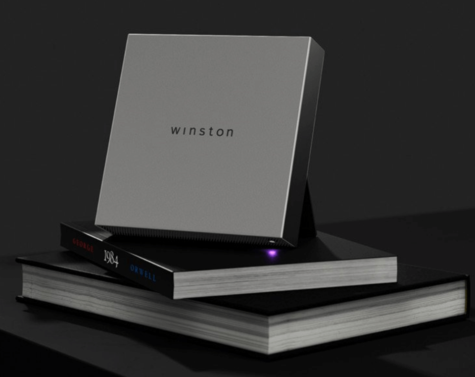 A picture of the Winston Privacy Device