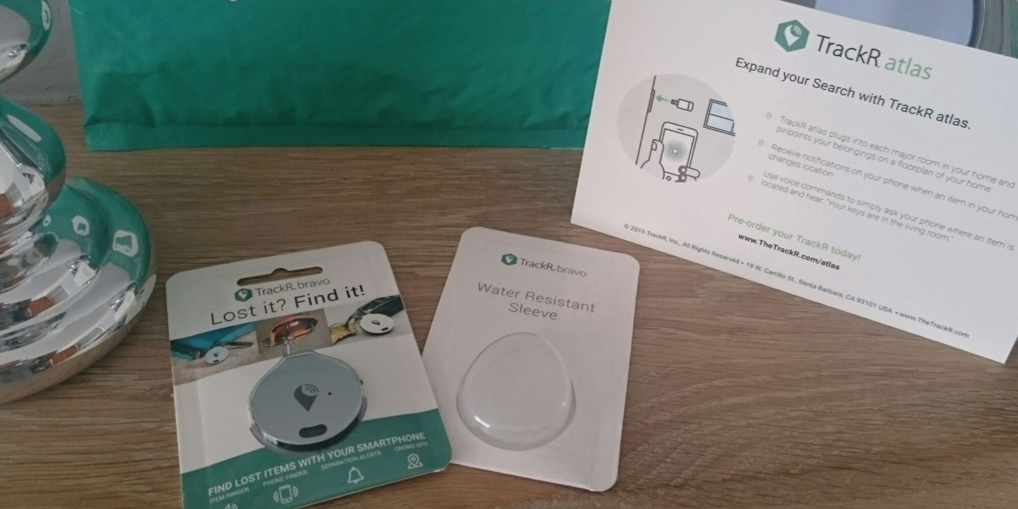 TrackR Product Samples