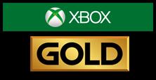 Membresía Xbox Live Gold 1 mes