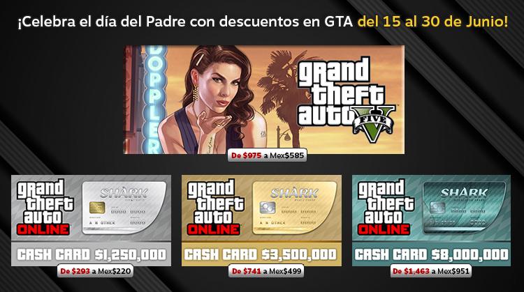 Celebra el día del Padre con GTA!