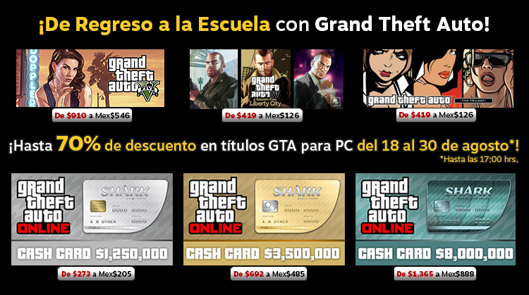Regreso a clases con GTA!
