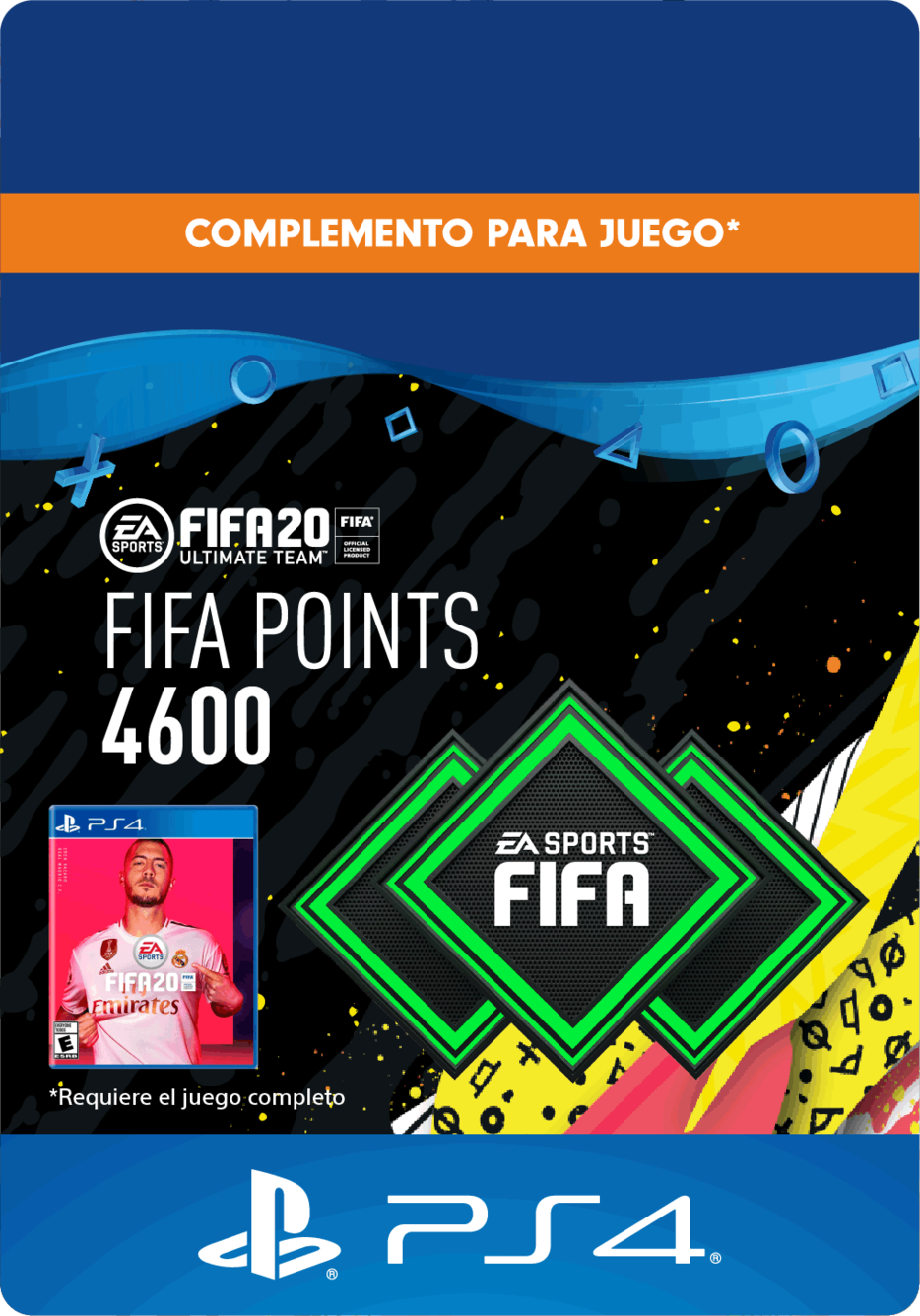 FIFA 20 Ultimate Team Points - 4600 Puntos