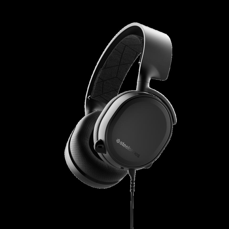 Audífonos Arctis 3 Black Gaming Headset