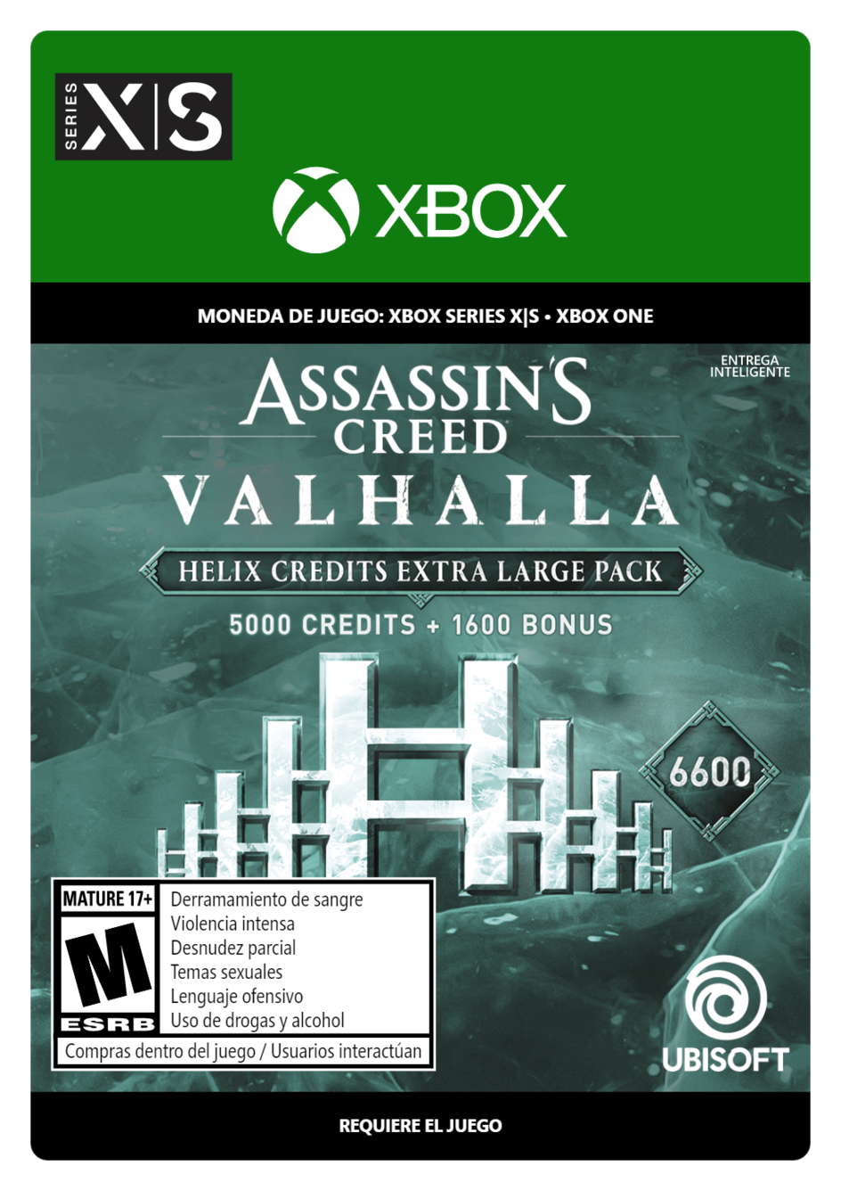 Assassins Creed Valhalla Extra Large Helix Credits Pack 6600