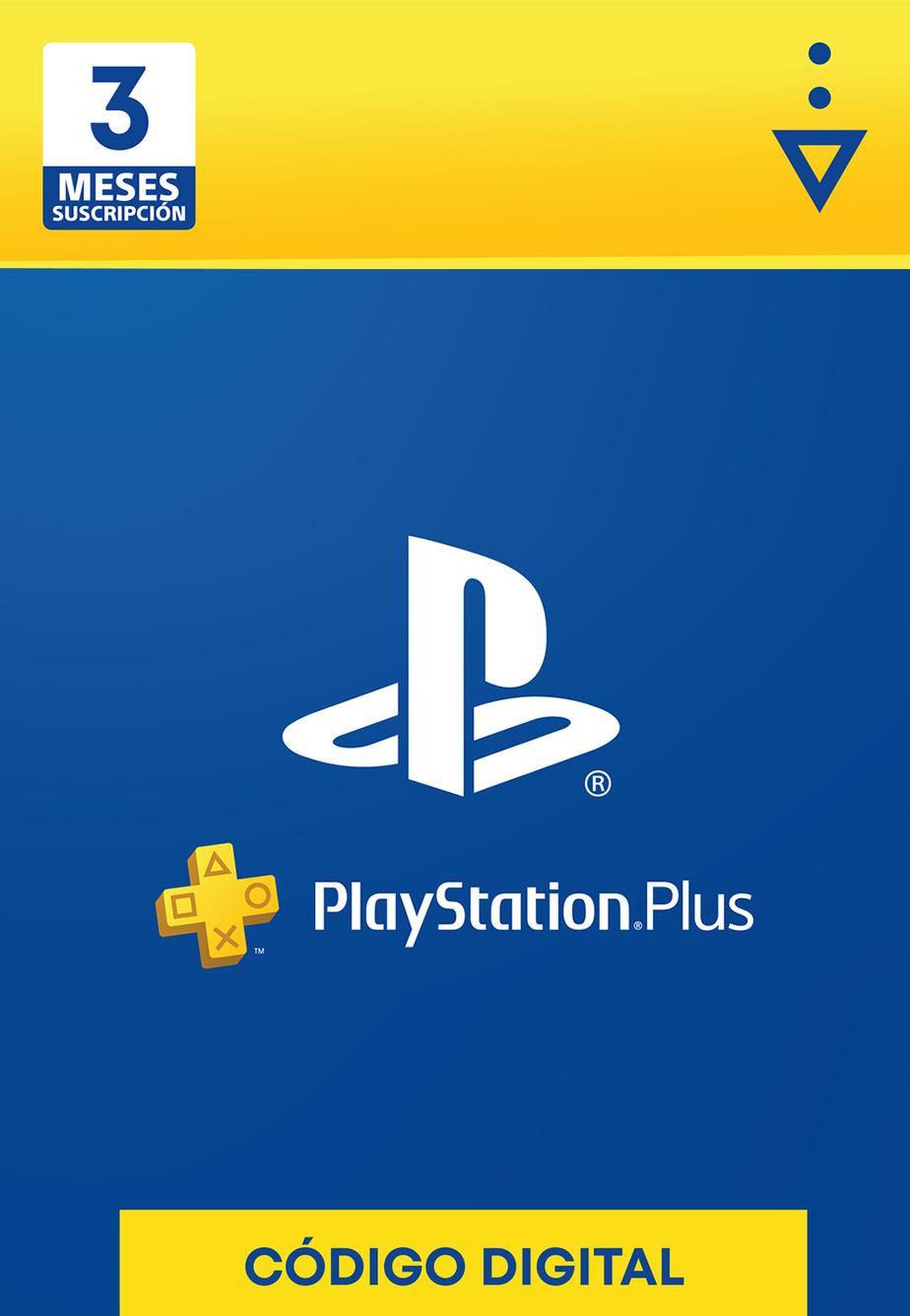 Membresía PlayStation Plus de 3 Meses