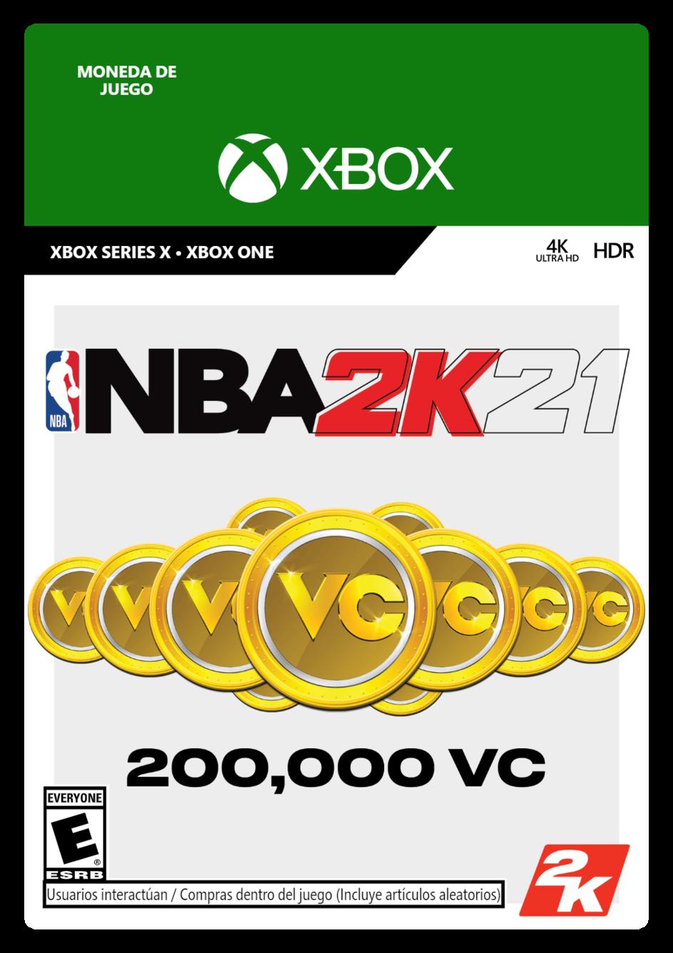 NBA 2K21: 200000 VC